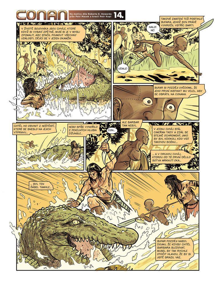 Conan a jeskyně života 14