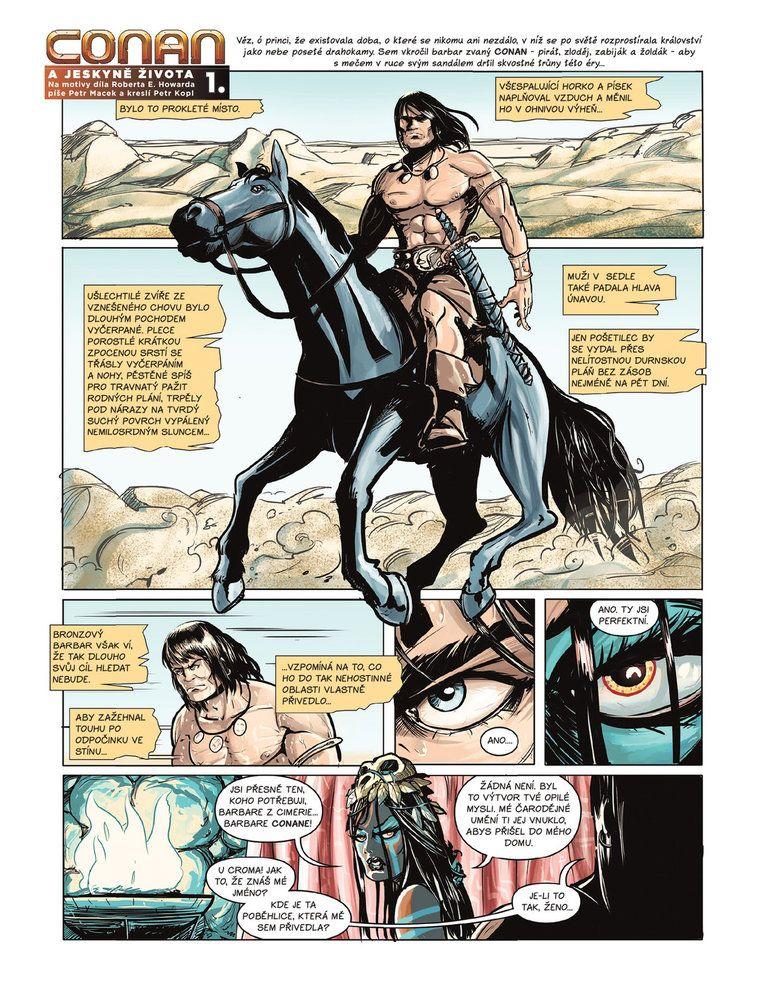 Conan a jeskyně života 1