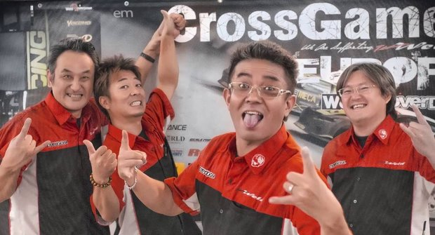 Cross Games Europe: Závod driftovacích autíček