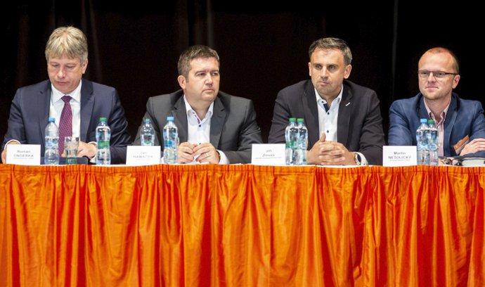 Zasedání ústředního výboru ČSSD