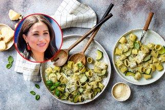 Meghan Markle slaví narozeniny! Oslavte je s ní a jejími oblíbenými těstovinami s cuketovou omáčkou