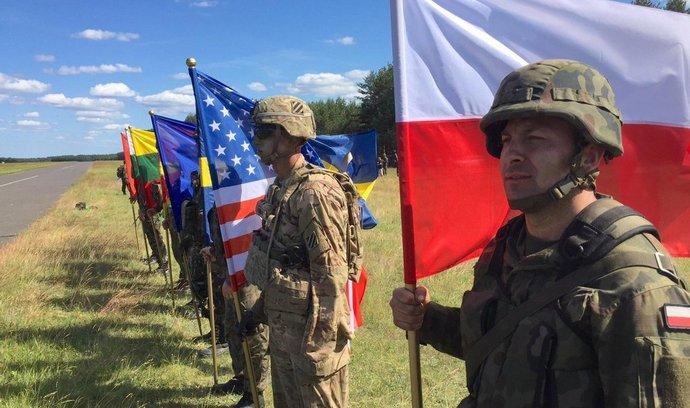 cvičení Anakonda vojáků NATO