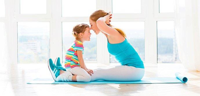 Buďte ve formě i s dětmi