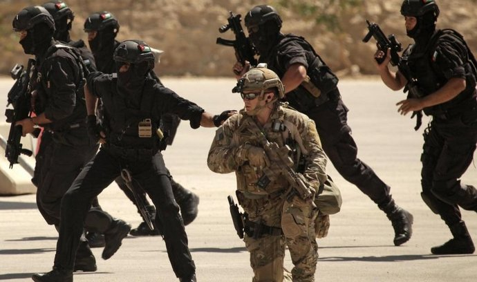 Cvičení v Jordánsku, ilustrační foto