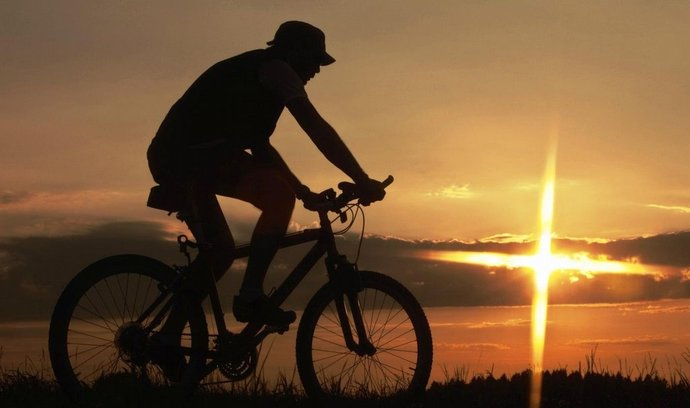 Cyklista, ilustrační foto