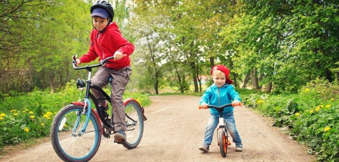 Připravte se na jarní cyklotoulky s dětmi