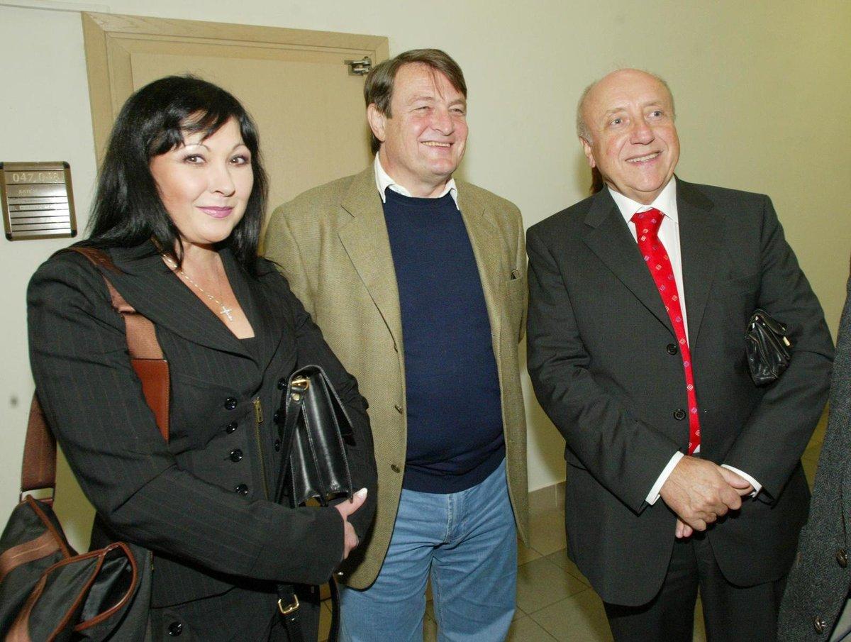 Dáda Patrasová, Ladislav Štaidl a Felix Slováček