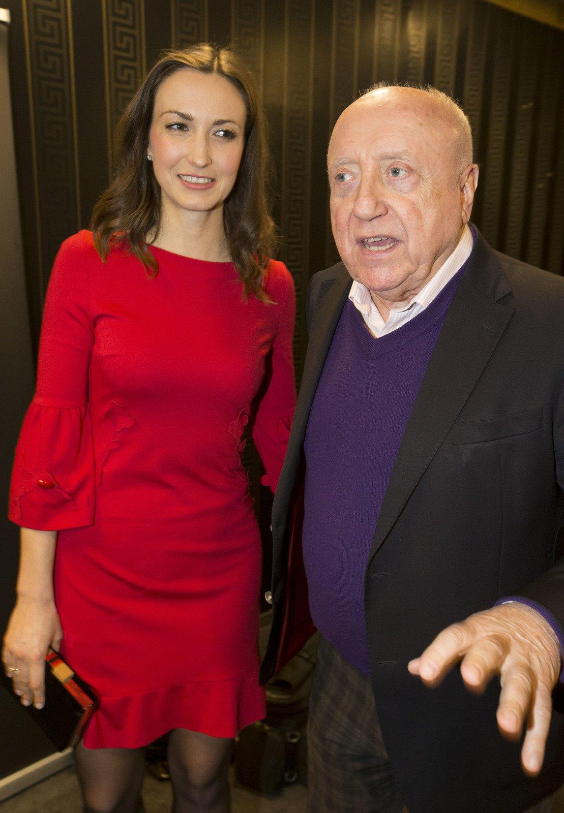 Lucie Gelemová a Felix Slováček