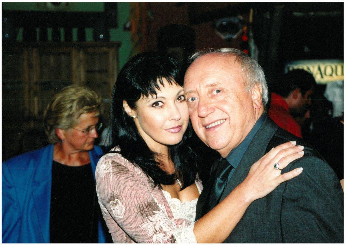 Dáda Patrasová a Felix Slováček