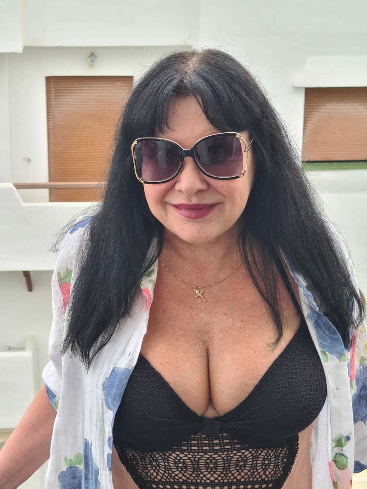 Dáda Patrasová na dovolené ve Španělsku.