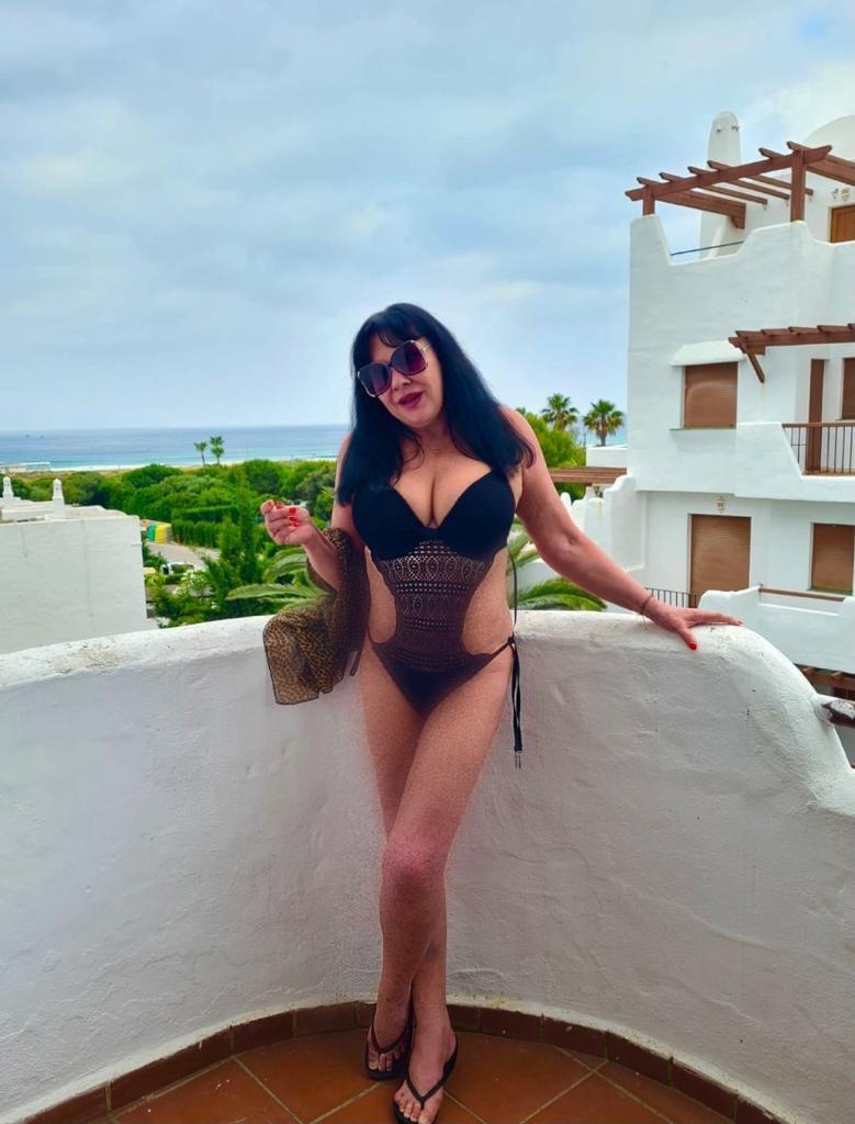 Dáda Patrasová na dovolené ve Španělsku. To je postavička!