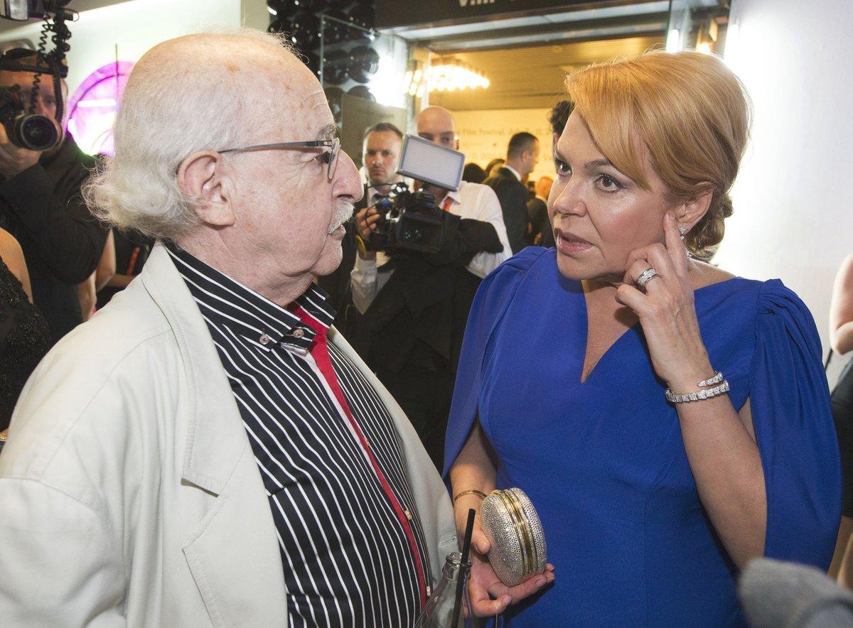 2016 - Juraj Herz a Dagmar Havlová v Karlových Varech