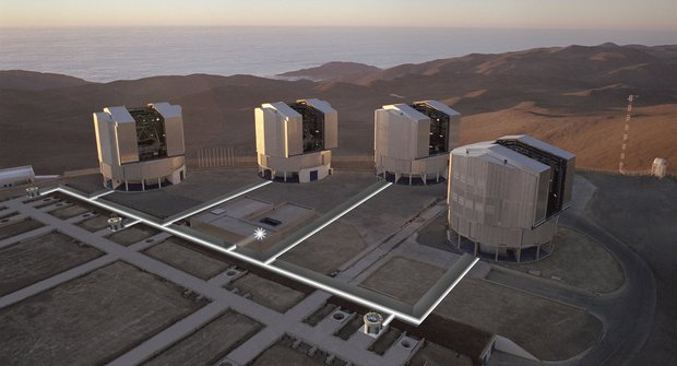 Pozorovatelé vesmíru: Největší astronomické dalekohledy světa