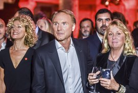 I was in the basement with Dan Brown.  In the Barcelona cellar