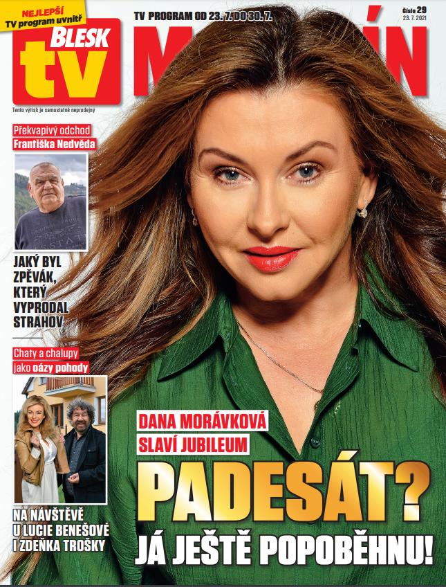 Dana Morávková v BLESK tv MAGAZÍNU.