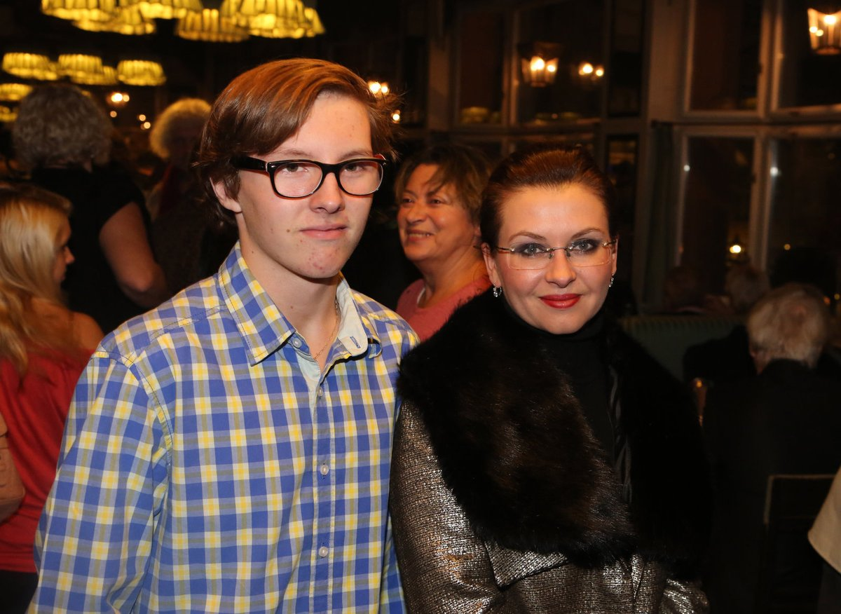 Dana Morávková se ve společnosti objevila se synem Petrem.