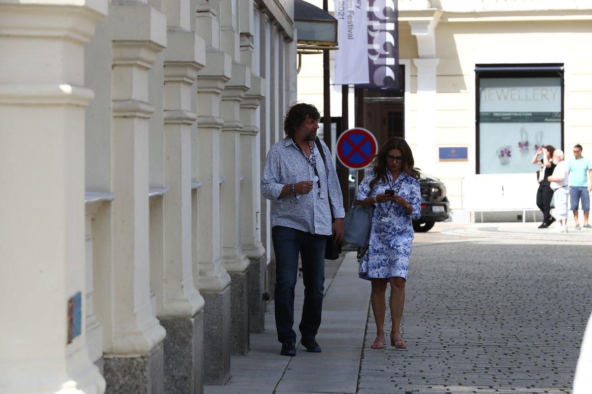 Dana Morávková a Petr Malásek ve Varech