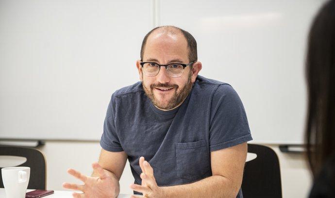Sociolog Daniel Prokop.