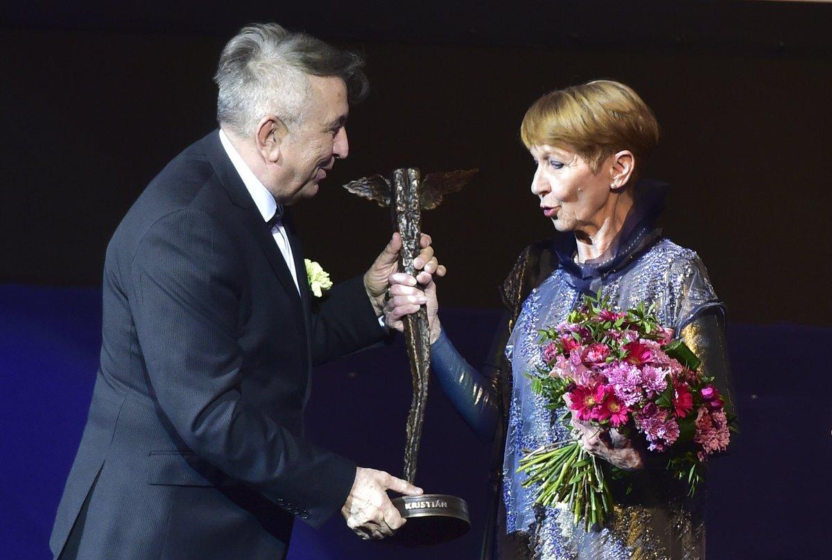 Daniela Kolářová dostala cenu za celoživotní přínos kinematografii.
