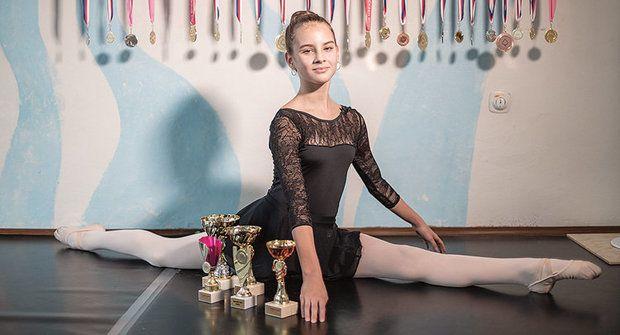 Zlatý oříšek: Daniela začala baletit už ve dvou letech