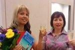 Danka Šarková při křtu své knihy