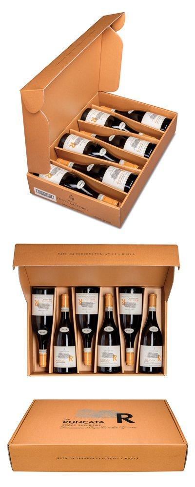 6 lahví Soave Runcata 2018, Sada vín k postupnému ochutnávání z roku seznámení novomanželů, 3900 Kč, vinozarchivu.cz