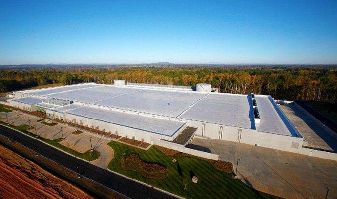 Datové centrum Applu v Maiden v Severní Karolíně