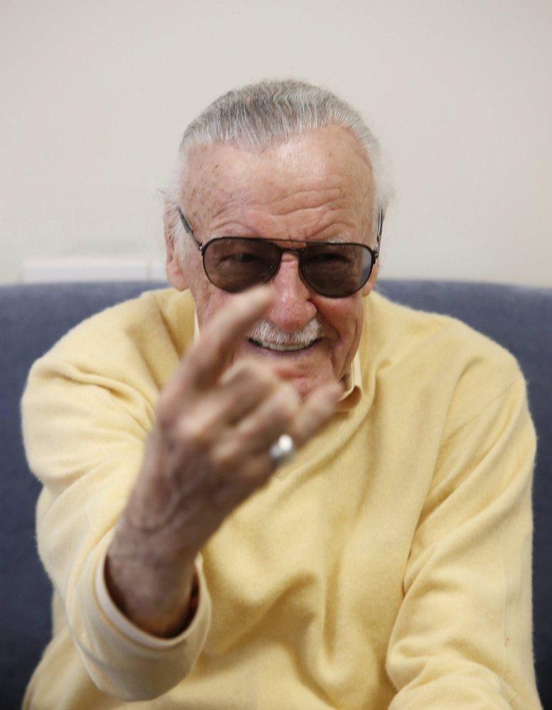 Komiksový tvůrce Stan Lee