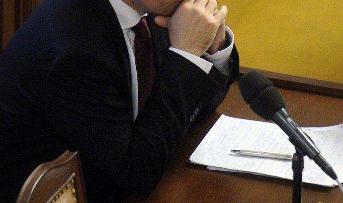 David Rath ve sněmovne 7. září