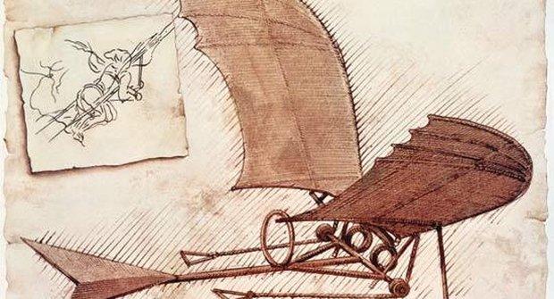 Geniální Leonardo: Da Vinciho vynálezy a skicy
