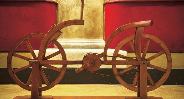 Géniovy vynálezy: Výstava Leonarda da Vinci