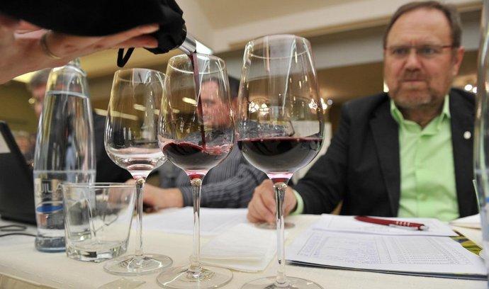 Degustace vína v rámci Salonu vín