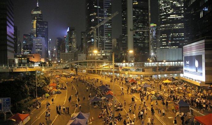 Demonstrace v Hongkongu trvají už několik týdnů