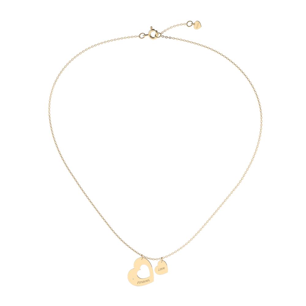 Zlatý náhrdelník s diamantem, ALOve, 8030 Kč