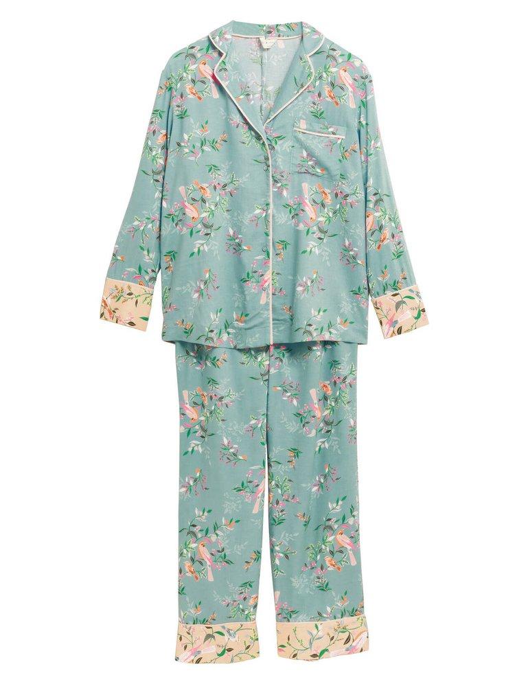 Pyžamová souprava s květinovým potiskem, Marks & Spencer, 999 Kč