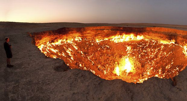 Podivuhodná místa: Pekelná díra Derweze