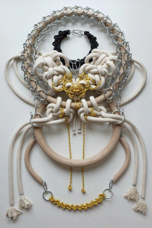 Náhrdelník z kolekce Mononoke od Markéty Kratochvílové