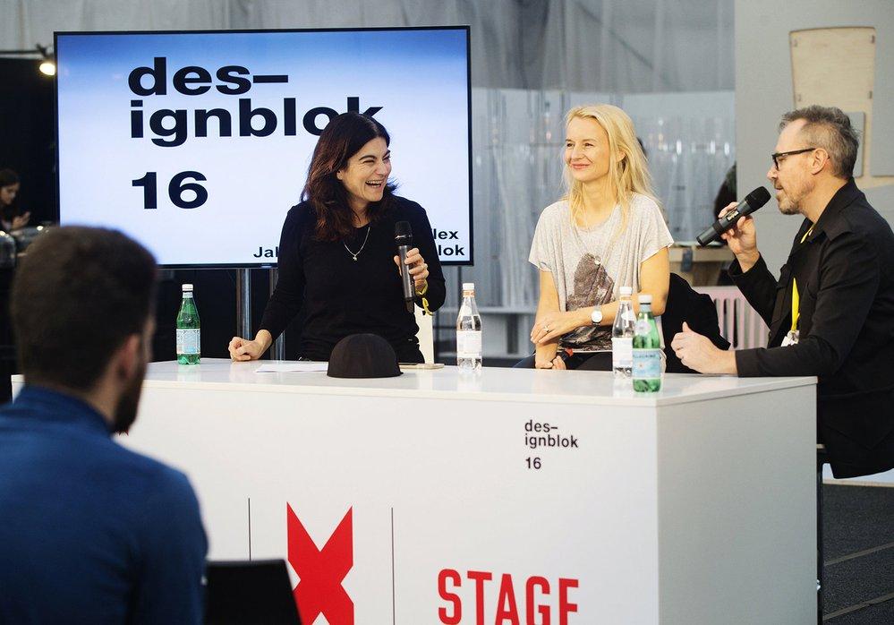 Hostem Reflexu byla ředitelka Designbloku Jana Zielinski a kreativní ředitel Jiří Macek.