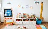Detská izbička v štýle Montessori