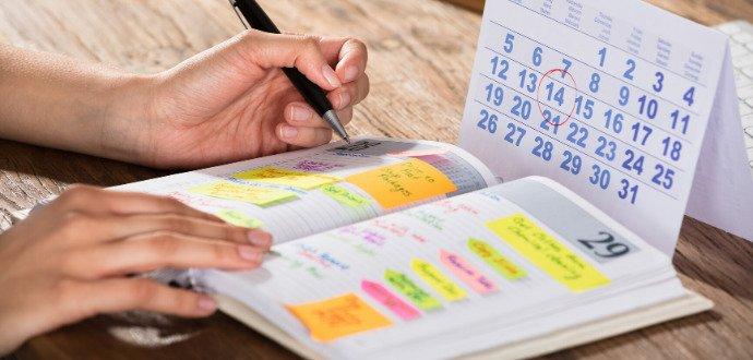 Hoďte nový rok na papír: 6 tipů, jak si vést diář, aby vás bavil