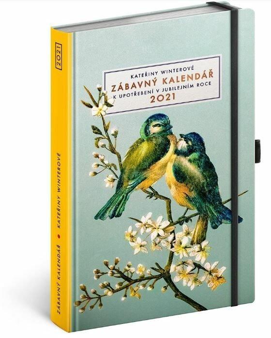 Zábavný kalendář Kateřiny Winterové 2021, 268 Kč, www.knihydobrovsky.cz