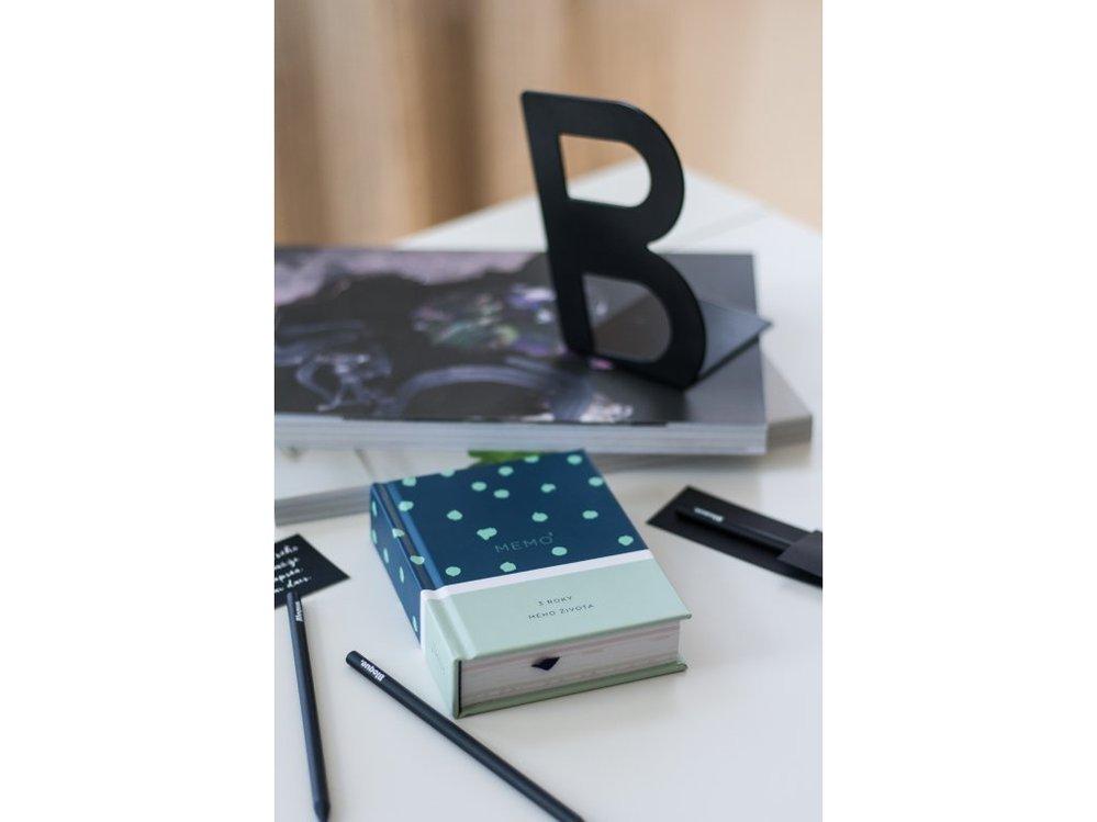 Nedatovaný zápisník nebo deník na tři roky MEMO3,  649 Kč, shop.bloque.pro