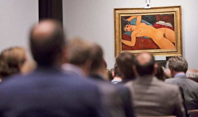 Dílo nazvané Nu couché ze širšího cyklu aktů z roku 1917 patří k nejčastěji reprodukovaným obrazům.