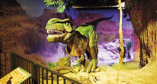 Výlet do pravěku: Ábíčko v DinoParku