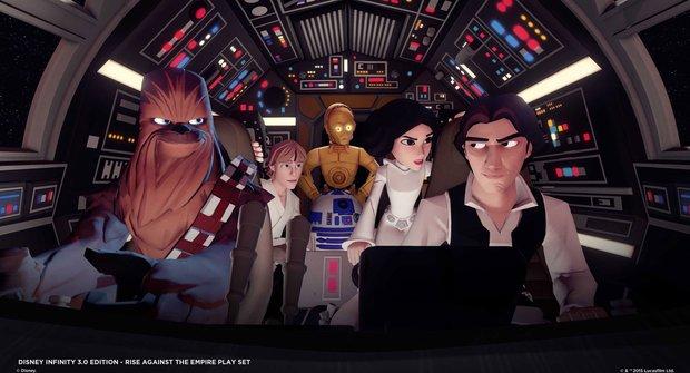 Hrátky s počítačem v ABC 20: Disney Infinity 3.0 Edition