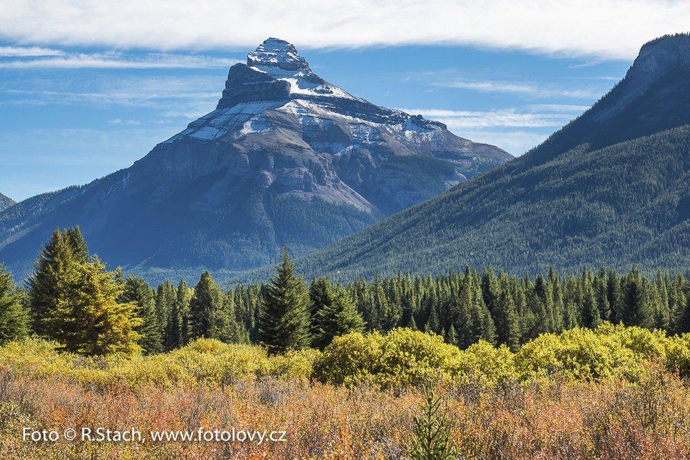 Krajina v národním parku Banff, Alberta, Kanada