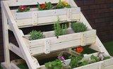 Záhonek i na balkón: vytvořte si vlastní vertikální záhrádku