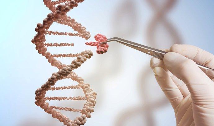 """Jak opravovat """"překlepy"""" v lidské DNA? Ilustrační foto."""