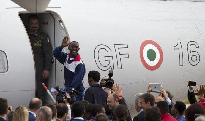 Švédsko ještě nedávno přijalo skupinu Eritrejců, které tam na základě kvót poslala Itálie