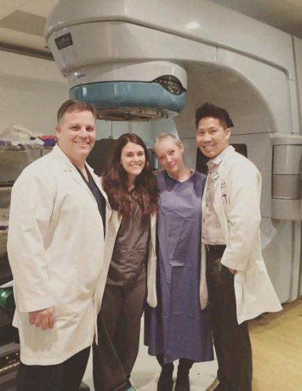 Herečka Shannen Doherty ukončila radiační léčbu.